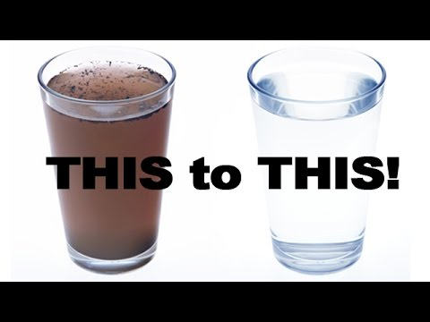 How To Filter Dirty Water