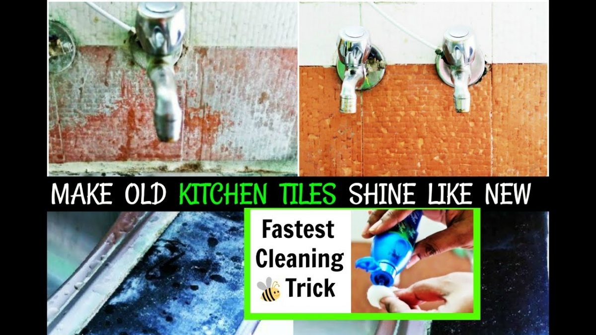 Hard Water Stains Cleaning Tips & Tricks For Indian Kitchen Tiles ...
