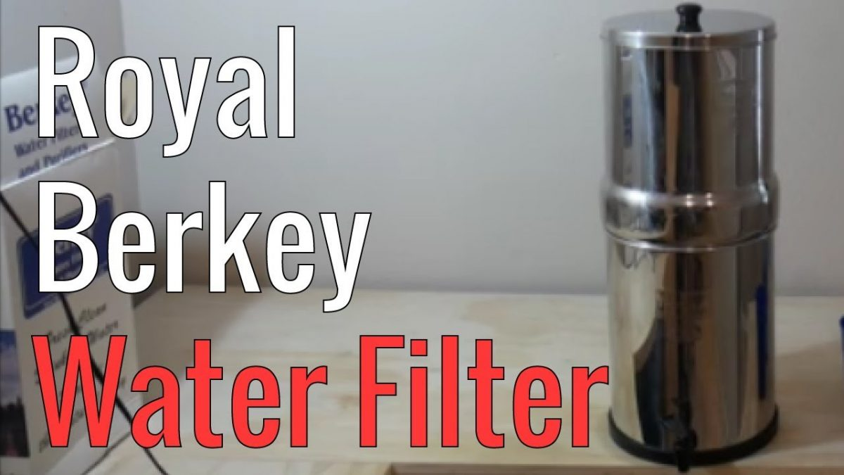 royal berkey water filter. Royal Berkey Water Filter Review